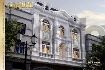 1 Thiết kế kiến trúc biệt thự pháp tại sơn tây sh btp 0009