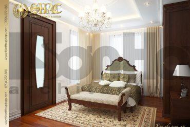 10 Mẫu nội thất phòng ngủ 1 biệt thự lâu đài tại vĩnh phúc sh btld 0008