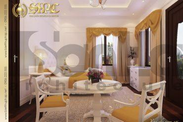 11 Thiết kế nội thất phòng ngủ 2 biệt thự lâu đài tại vĩnh phúc sh btld 0008