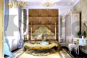 12 Mẫu nội thất phòng ngủ 3 biệt thự lâu đài tại vĩnh phúc sh btld 0008