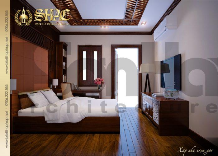 12 Thiết kế nội thất phòng ngủ 2 biệt thự lâu đài tại hải phòng sh btld 0005