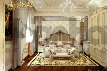 13 Mẫu thiết kế nội thất phòng ngủ 4 biệt thự lâu đài tại vĩnh phúc sh btld 0008