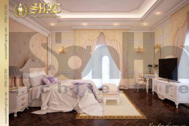 13 Thiết kế nội thất phòng ngủ 5 biệt thự lâu đài tại nha trang sh btld 0013