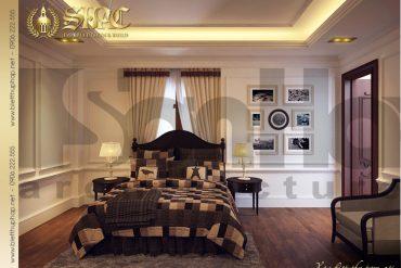 14 Mẫu nội thất phòng ngủ 2 biệt thự lâu đài tại hà nam sh btld 0009
