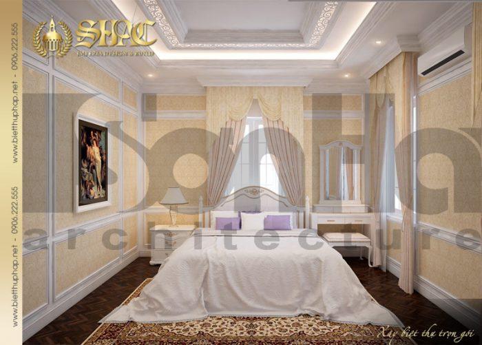 14 Mẫu nội thất phòng ngủ 6 biệt thự lâu đài tại nha trang sh btld 0013