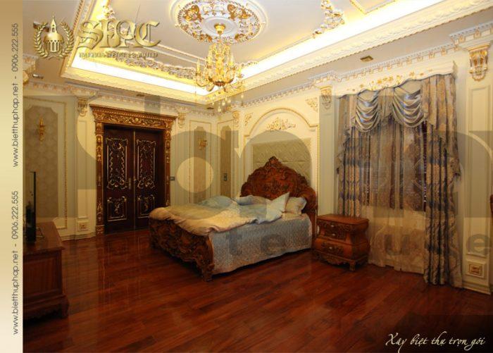 14 Thiết kế nội thất phòng ngủ 5 biệt thự lâu đài tại hà nội sh btld 0010