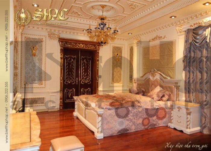 15 Mẫu nội thất phòng ngủ 6 biệt thự lâu đài tại hà nội sh btld 0010