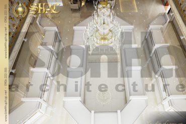 15 Mẫu nội thất tầng 1 kinh doanh biệt thự pháp tại nam định sh btp 0016