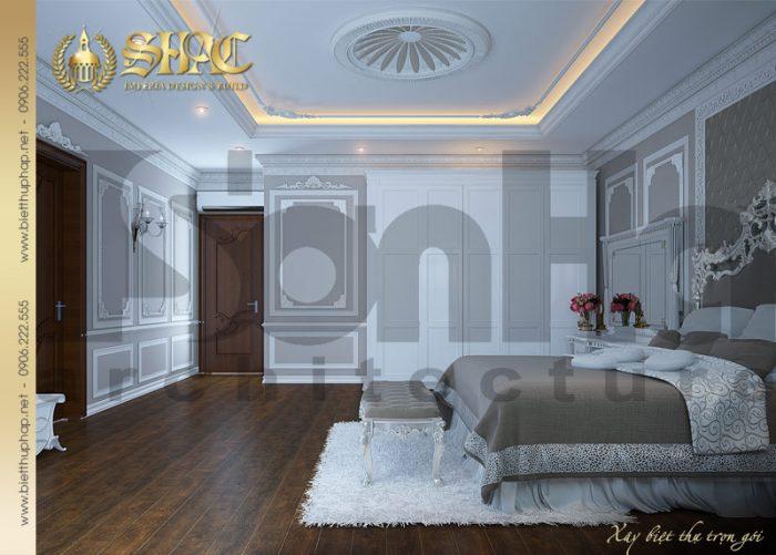 16 Mẫu nội thất phòng ngủ 4 biệt thự lâu đài tại hà nam sh btld 0009