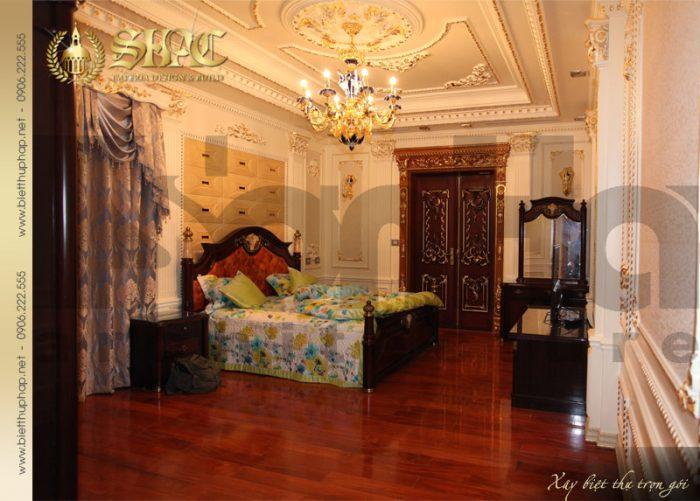 16 Thiết kế nội thất phòng ngủ 7 biệt thự lâu đài tại hà nội sh btld 0010