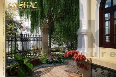 16 Thiết kế sân vườn biệt thự lâu đài tại vĩnh phúc sh btld 0008