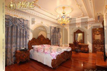 17 Mẫu nội thất phòng ngủ 8 biệt thự lâu đài tại hà nội sh btld 0010