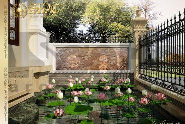 17 Mẫu thiết kế sân vườn biệt thự lâu đài tại vĩnh phúc sh btld 0008