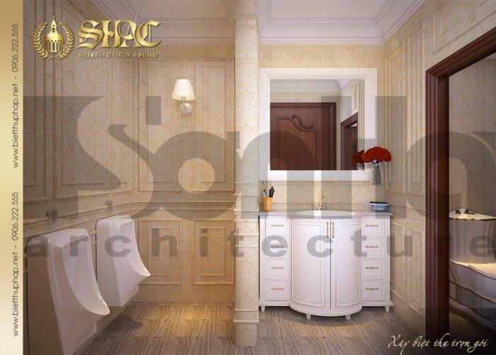 17 Thiết kế nội thất wc biệt thự lâu đài tại hà nam sh btld 0009