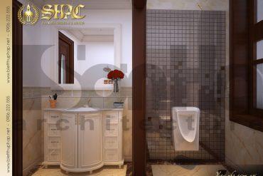 18 Thiết kế nội thất wc tầng 1 biệt thự lâu đài tại vĩnh phúc sh btld 0008