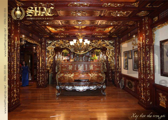 19 Mẫu nội thất phòng thờ biệt thự lâu đài tại hà nội sh btld 0010
