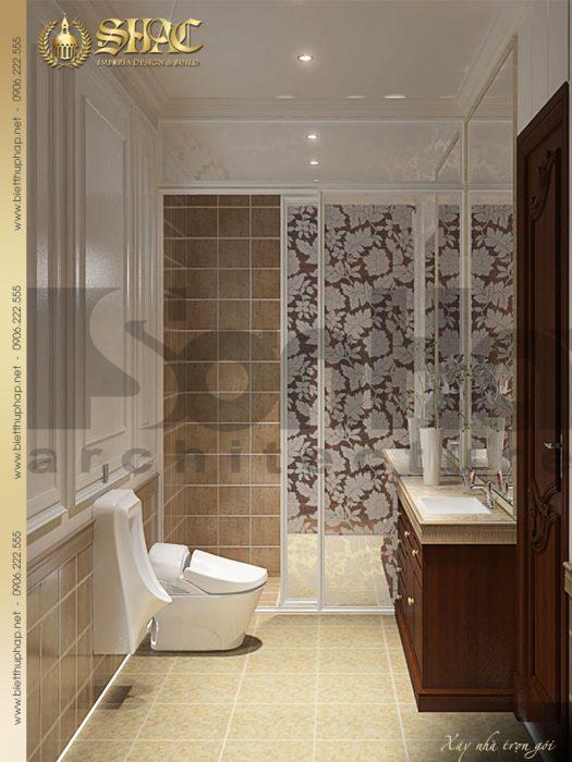 19 Mẫu nội thất wc tầng 2 biệt thự lâu đài tại vĩnh phúc sh btld 0008