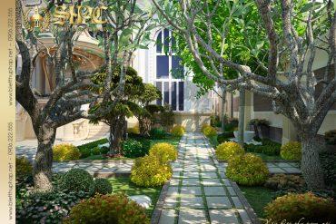 20 Mẫu nội thất sân vườn biệt thự lâu đài tại nha trang sh btld 0013
