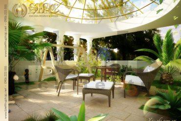21 Mẫu tiểu cảnh sân vườn biệt thự lâu đài tại hải phòng sh btld 0005