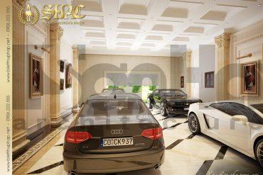 21 Thiết kế nội thất gara biệt thự lâu đài tại hà nam sh btld 0009
