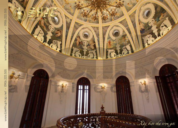 22 Thiết kế nội thất chòm biệt thự lâu đài tại hà nội sh btld 0010