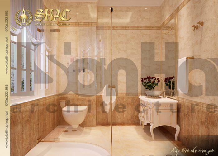 23 Thiết kế nội thất wc biệt thự lâu đài tại nha trang sh btld 0013
