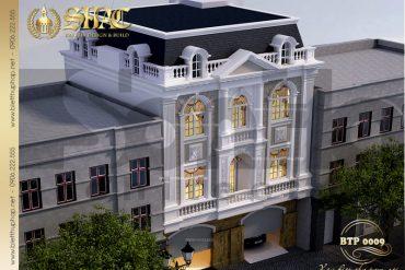 3 Thiết kế kiến trúc biệt thự pháp tại sơn tây hà nội sh btp 0009