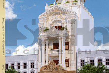 3 Thiết kế lâu đài tại thái bình sh btld 0015
