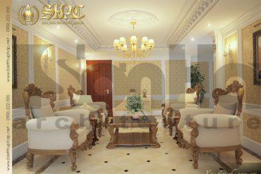 3 Thiết kế nội thất phòng khách biệt thự tân cổ điển tại quảng ninh sh btcd 0007