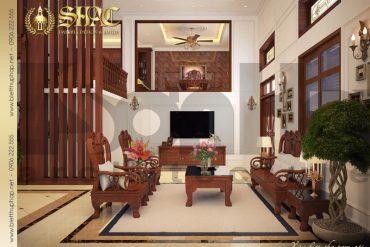 3.Thiết kế nội thất phòng khách tân cổ điển tại quảng ninh SH BTCD 0017