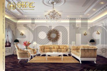 4 Mẫu nội thất phòng khách 2 biệt thự lâu đài tại hà nam sh btld 0009