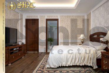 4.Mẫu nội thất phòng ngủ tân cổ điển tại quảng ninh SH BTCD 0017