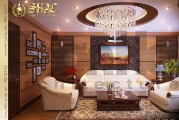5 Mẫu nội thất phòng khách biệt thự lâu đài tại hải phòng sh btld 0005