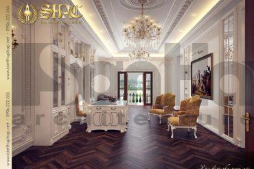 5 Thiết kế nội thất phòng khách 3 biệt thự lâu đài tại hà nam sh btld 0009