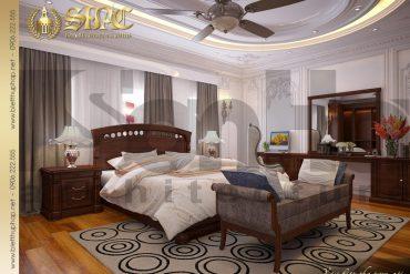 5.Thiết kế nội thất phòng ngủ cổ điển tại sài gòn SH BTP 0019