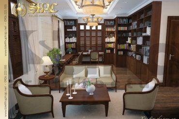 5 Thiết kế nội thất phòng sinh hoạt chung biệt thự lâu đài tại thanh hóa sh btcd 0005