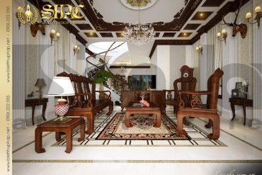 6.Mau noi that phong khach biet thu lau dai tai thai binh sh btld 0006