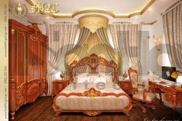6 Mẫu nội thất phòng ngủ 2 biệt thự lâu đài tại hải phòng