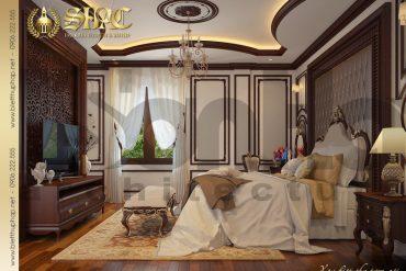 6.Mẫu nội thất phòng ngủ cổ điển tại sài gòn SH BTP 0019