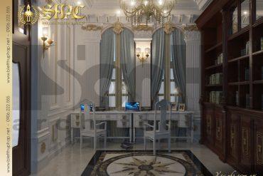 6 Mẫu nội thất phòng sinh hoạt chung biệt thự lâu đài tại vĩnh phúc