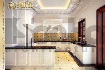 6 Mẫu thiết kế nội thất phòng bếp ăn biệt thự lâu đài tại hà nam sh btld 0009
