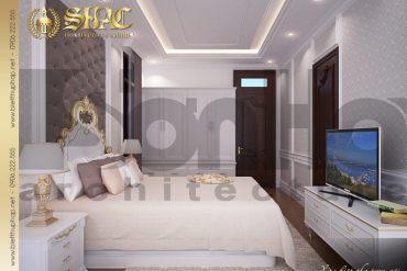 7 Thiết kế nội thất phòng ngủ 2 biệt thự pháp tại hải dương sh btp 0010