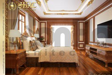 7.Thiết kế nội thất phòng ngủ cổ điển tại sài gòn SH BTP 0019