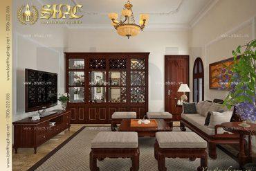 7 Thiết kế nội thất phòng sinh hoạt chung biệt thự tân cổ điển tại hà nội sh btcd 0008