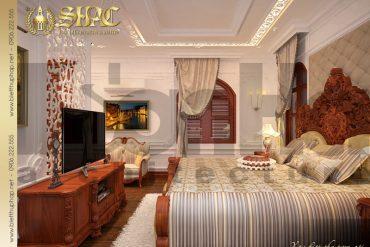 8 Mẫu nội thất phòng ngủ vip biệt thự lâu đài tại hải phòng sh btld 0014