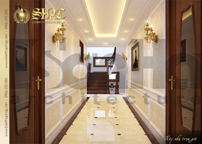 8 Mẫu nội thất sảnh tầng 2 biệt thự lâu đài tại vĩnh phúc sh btld 0008