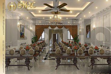 8 Mẫu thiết kế phòng hội trường biệt thự lâu đài tại hà nam sh btld 0009