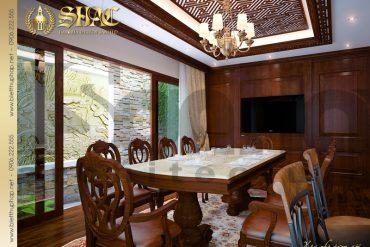 8 Thiết kế nội thất phòng bếp ăn biệt thự lâu đài tại hải phòng sh btld 0005