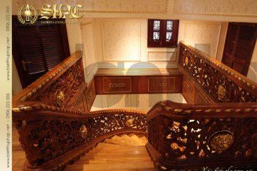 9 Mẫu nội thất sảnh thang biệt thự lâu đài tại hà nội sh btld 0010