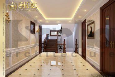 9 Thiết kế nội thất sảnh tầng 3 biệt thự lâu đài tại vĩnh phúc sh btld 0008